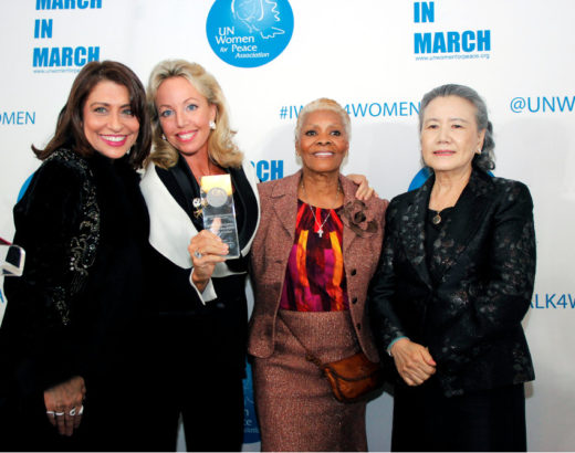 Princess Camilla of Bourbon Two Sicilies Charitable Foundation - Worldwide Advocacy - March in March 2016