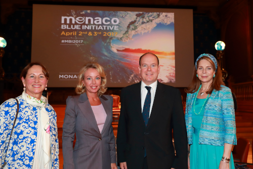 Monaco Blue Initiative Camilla of Bourbon