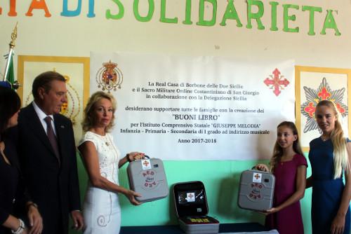 Princess Camilla of Bourbon Two Sicilies - Citta cardio-protetta Project