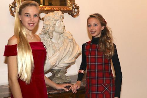 Action Innocence Monaco Princess Maria Carolina and Princess Maria Chiara