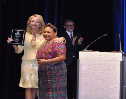 Camilla of Bourbon Peace Jam Award