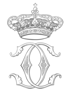 TRH Prince Charles and Princess Camilla of Bourbon Two Sicilies monogram