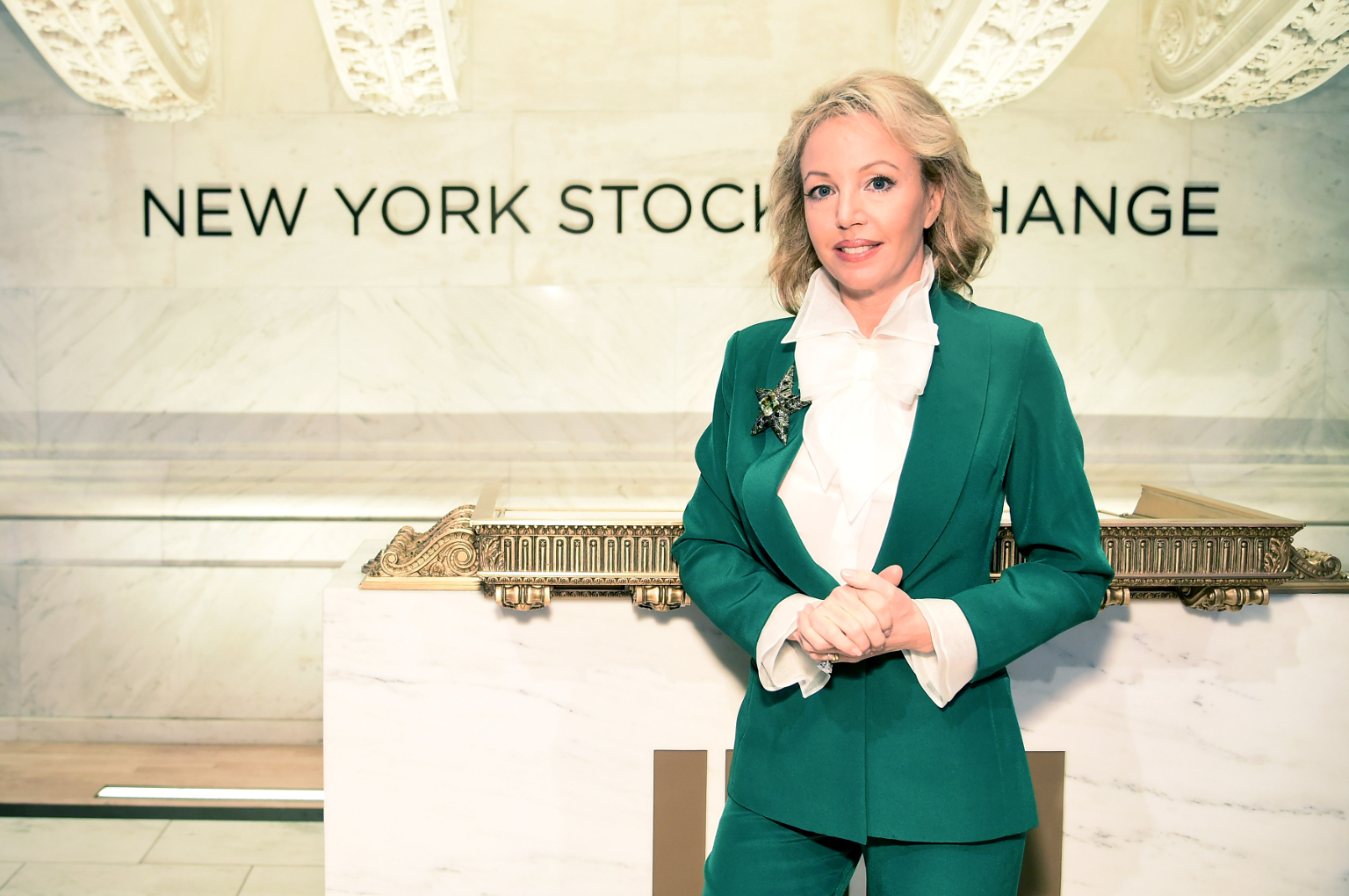 Princess-Camilla-of-Bourbon-Two-Sicilies-at-NYSE