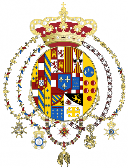 Camilla of Bourbon Two sicilies official site - Royal House coat of arms
