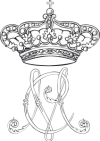 Princess Maria Chiara of Bourbon Two Sicilies Monogram